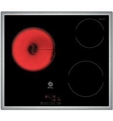 VITRO BALAY 3EB714XR 3 ZONAS MARCO INOX - 000400120152