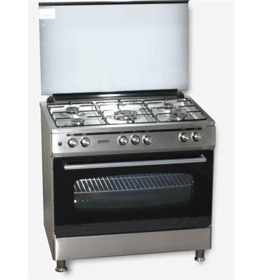 Cocina rommer 966 ghg inox 5 fuegos for Cocinas rommer opiniones