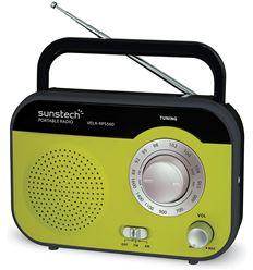 RADIO PORTATIL SUNSTECH RPS560GN VERDE - RPS560GN