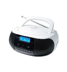 RADIO CD SUNSTECH CRUSM400WT MP3 USB BLANCA - CRUSM400WT