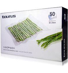 BOLSAS ENVASADORA VACPACK TAURUS 30X35 50U - 999185