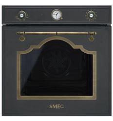 HORNO SMEG SF750AO NEGRO MULTIFUNCION BRONCE - SF750AO