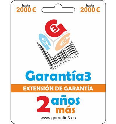 EXTENSION DE GARANTIA MAX-2000 - G3PDES2000