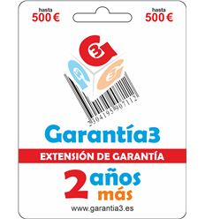 EXTENSION DE GARANTIA MAX-500
