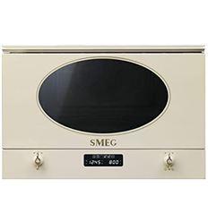 MICROONDAS INTEGR. SMEG MP822PO 23L 60CM CREMA - MP822PO