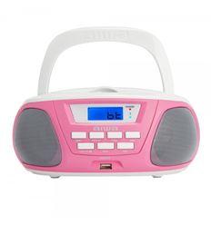 RADIO CD AIWA BBTU-300PK ROSA - BBTU300PK