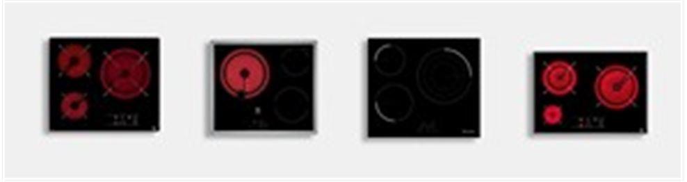 Las mejores vitrocerámicas de 3 zonas en Electro Premium