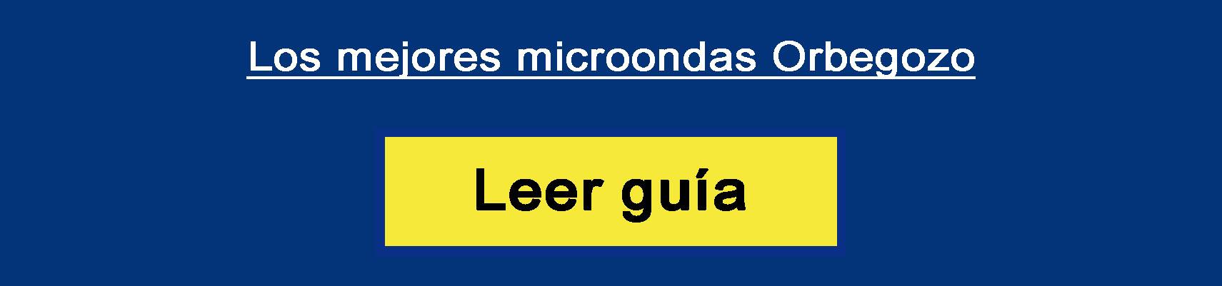 Los mejores microondas Orbegozo